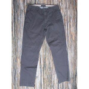 Banana Republic Grey Straight Leg Trousers Size 30